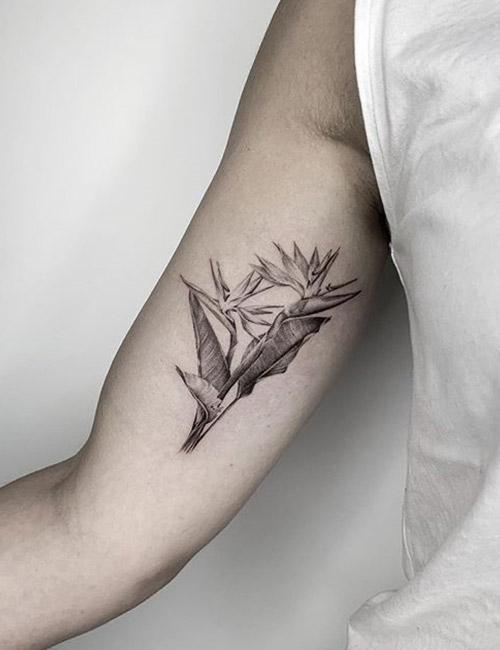 Lily Arm Tattoo