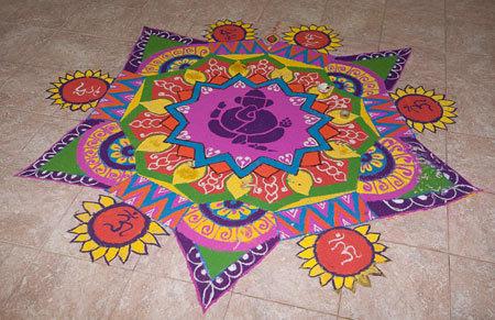 Lord Ganesha's design