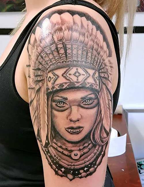 Native American Tattoo Designs