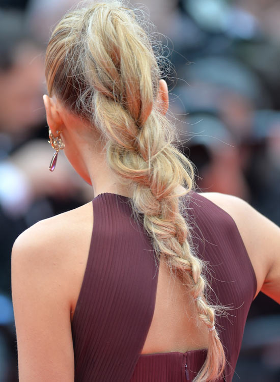 Ombre-Loose-Ponytail-Braid