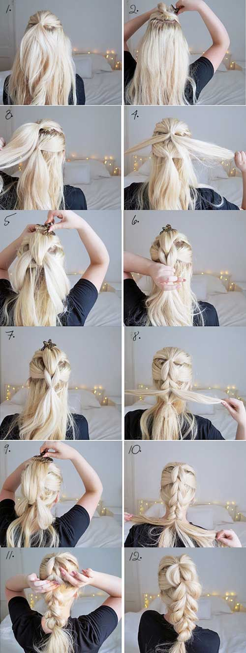 Pull-Through French Braid