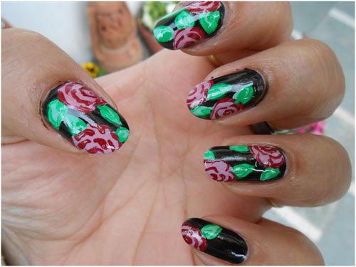 Roses-Nail-Art-10