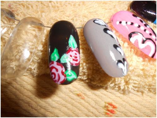 Roses-Nail-Art-6