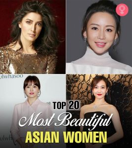 Top 20 Most Beautiful Asian Women