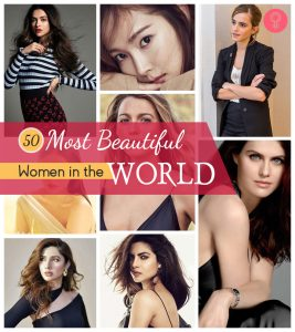 Top 50 Most Beautiful Women in the World