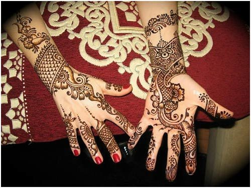 Flower Mehndi Designs For Back Hands : Awesome back hand mehndi designs to try in