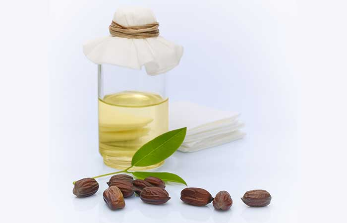 (b) Jojoba Oil For Dry Skin