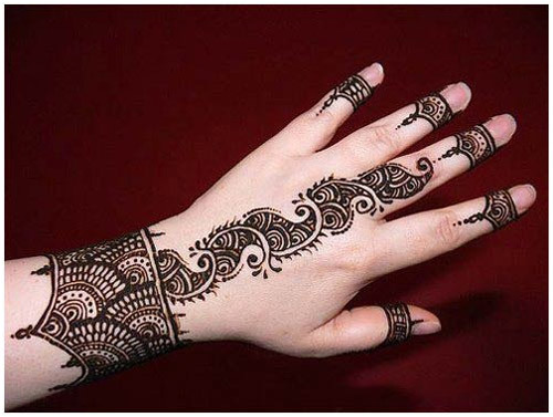 back mehndi designs