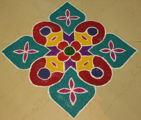 beautiful and colourful design