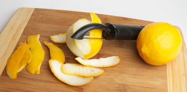 benefits of lemon peels