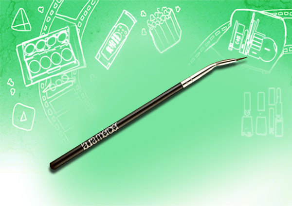bent eyeliner brush mac