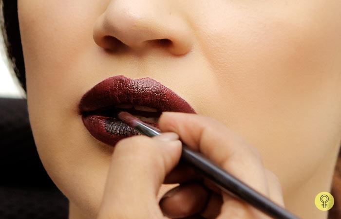 Use a Black Eye/Lip Pencil - Black Lipstick