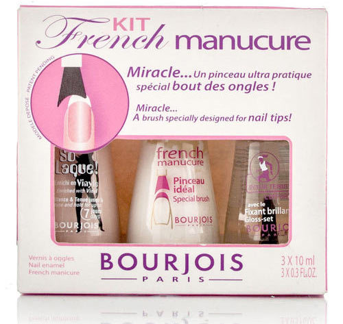 Nail art supplies india best nails 2018 bourjois french nail art kit how to do the french manicure at home prinsesfo Image collections