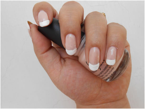 To Do The French Manicure At Home