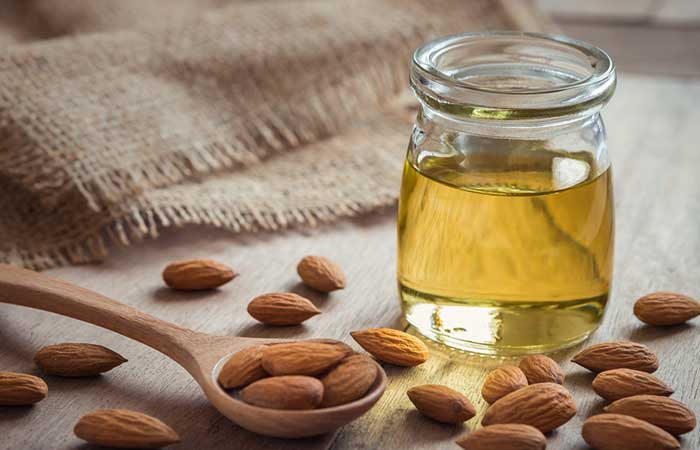 (d) Almond Oil For Dry Skin