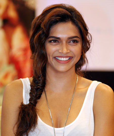 deepika padukone unique braided hairstyles