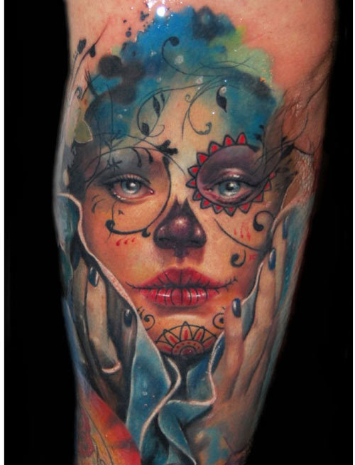 depicts women tattoo