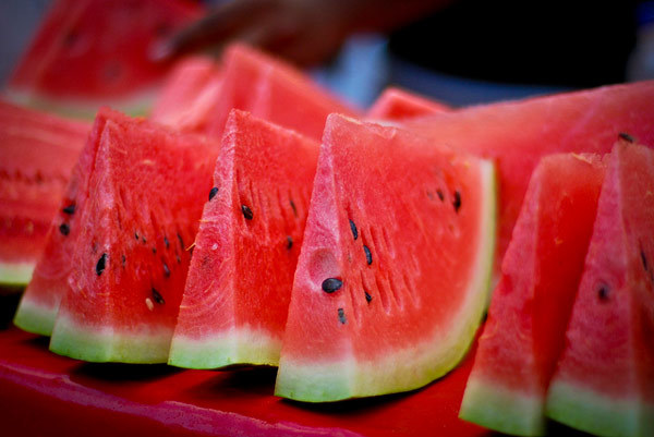 eating watermelon for skin