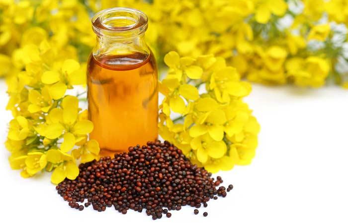 (f) Mustard Oil For Dry Skin