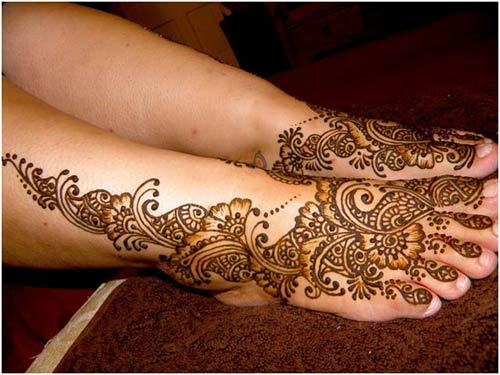 great mehindi for brides