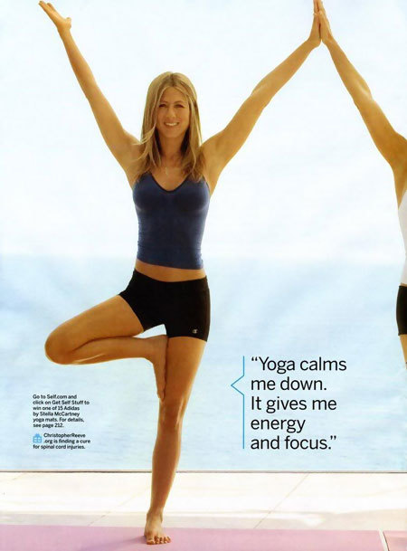 jennifer aniston exercise routine
