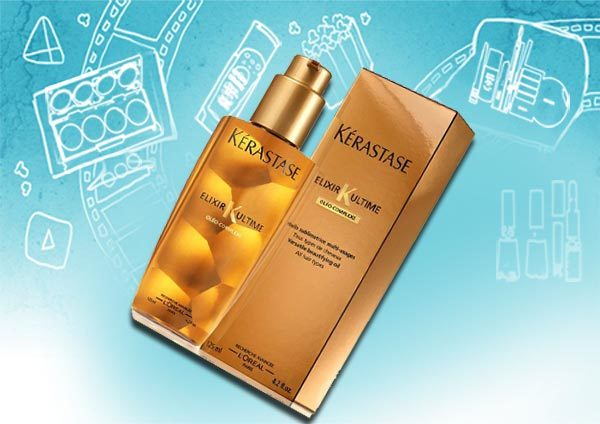kerastase elixir hair product
