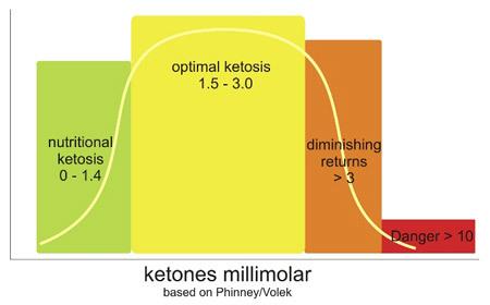 ketones millimolar