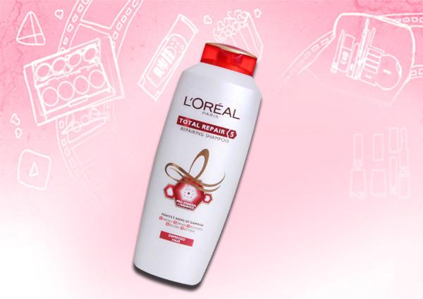 loreal paris total repair shampoo