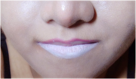 lower lips makeup