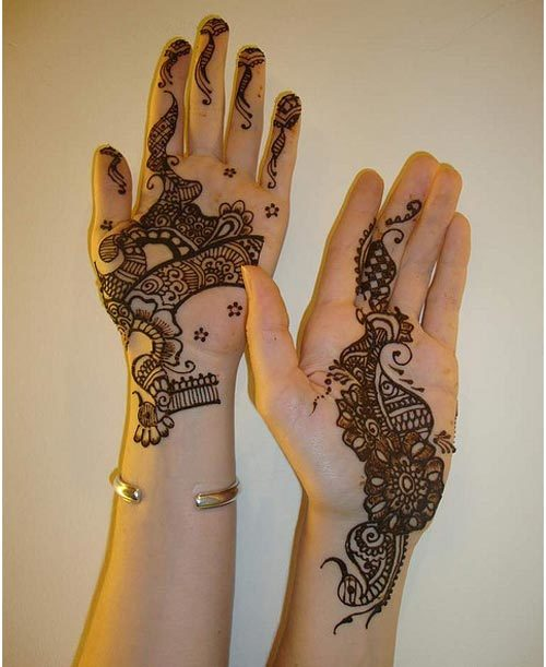 mehndi design for bride
