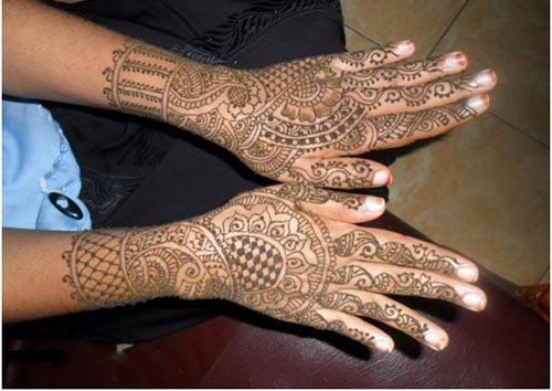 mehndi designs for brides