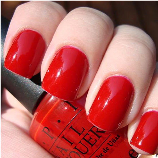 Opi Perfectly Red Pinit If You Are Fair Skinned