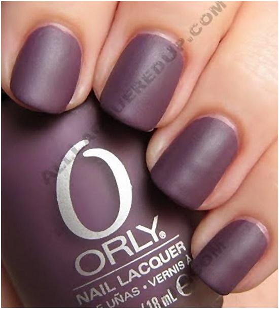 orly purple velvet review