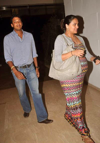 pregnant lara dutta photos