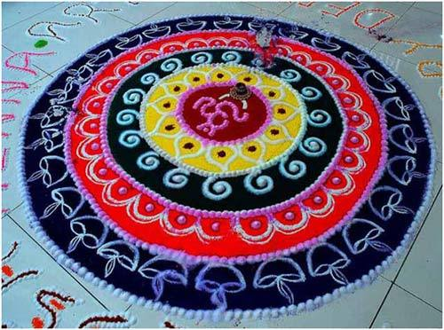 rangoli great design