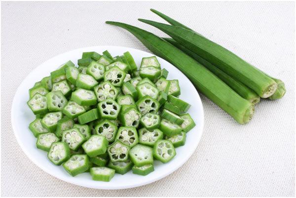 skin benefits of okra