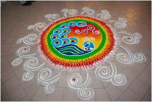 small rangoli design