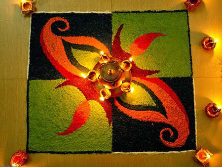 sweet Rangoli design