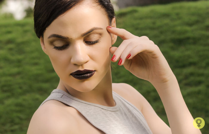 The Final Look - Black Lipstick