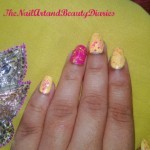 the-glitter-in-yellow-and-pink-nail-art-1