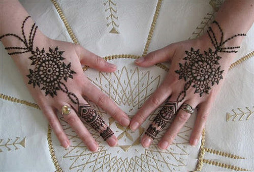 Back Hand Side Mehandi Design 2