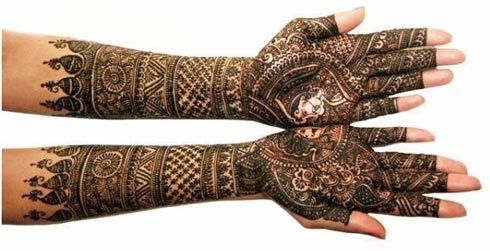 Mehndi Bracelet Designs 2016 : Stunning bangle mehndi designs to try in