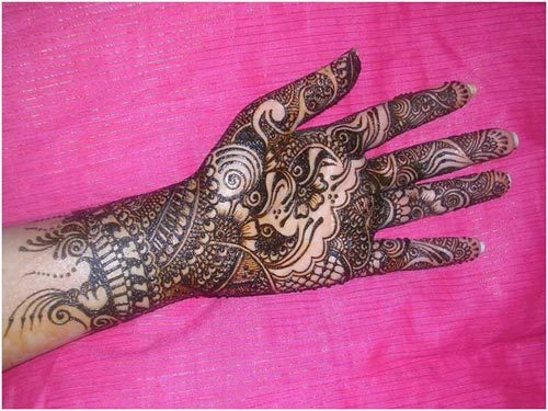 wedding mehendi design