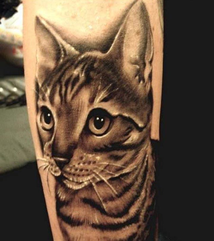 10 Cute Cat Tattoo Designs
