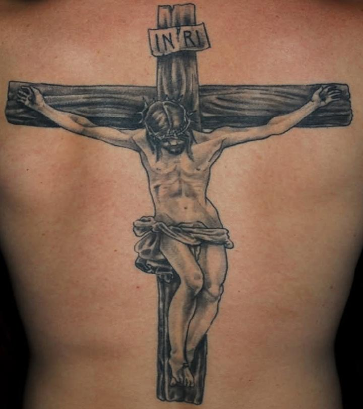 jesus symbol tattoos