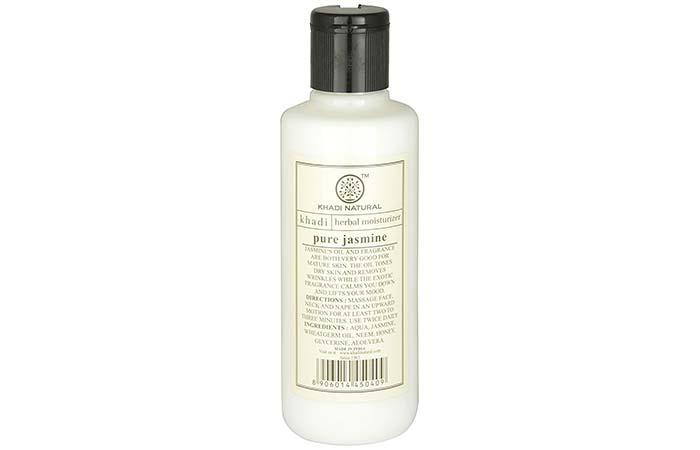 Body Lotions For Dry Skin - Khadi Natural Pure Jasmine Moisturizing Lotion