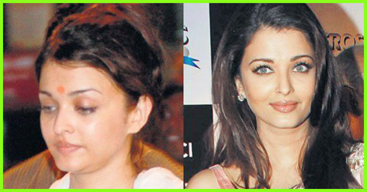 Top 15 Aishwarya Rai Bachchan Without Makeup Pictures Shocking