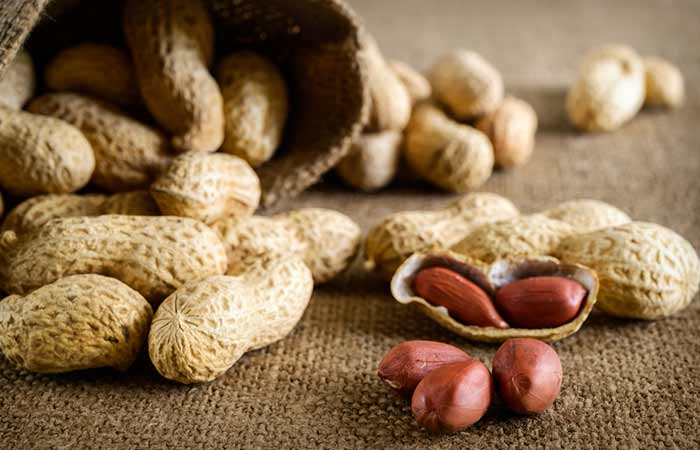 Peanuts - Purine-Rich Foods