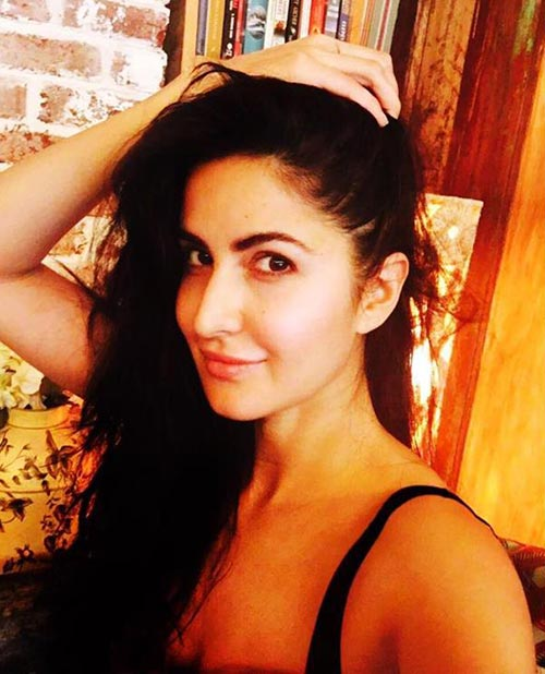 Katrina Kaif Without Makeup - 3. Just A Picture Of 'Hair' And There