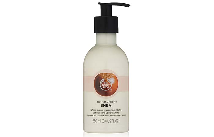 Best Body Lotions For Dry Skin - The Body Shop Shea Whip Body Lotion